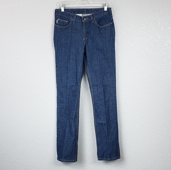 Carhartt Denim - Carhartt traditional fit straight leg jeans